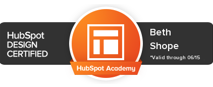 hubspot design cert