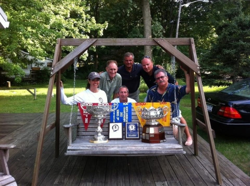 Kimber G&M Trophy + Gooderham Trophy without base + Jackeen crew