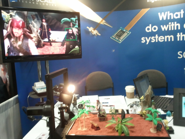interactive tradeshow booth photonics west optics