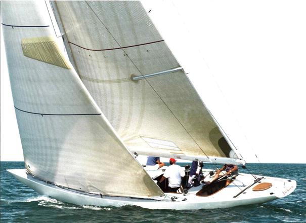 Jackeen - Classic 8 Metre Yacht - Built 1928