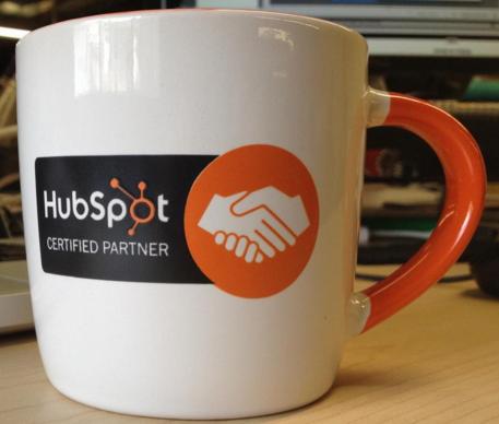 certified hubspot partner mug