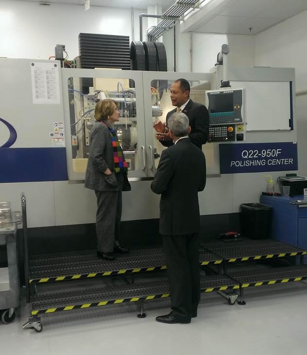 Optics manufacturing Louise