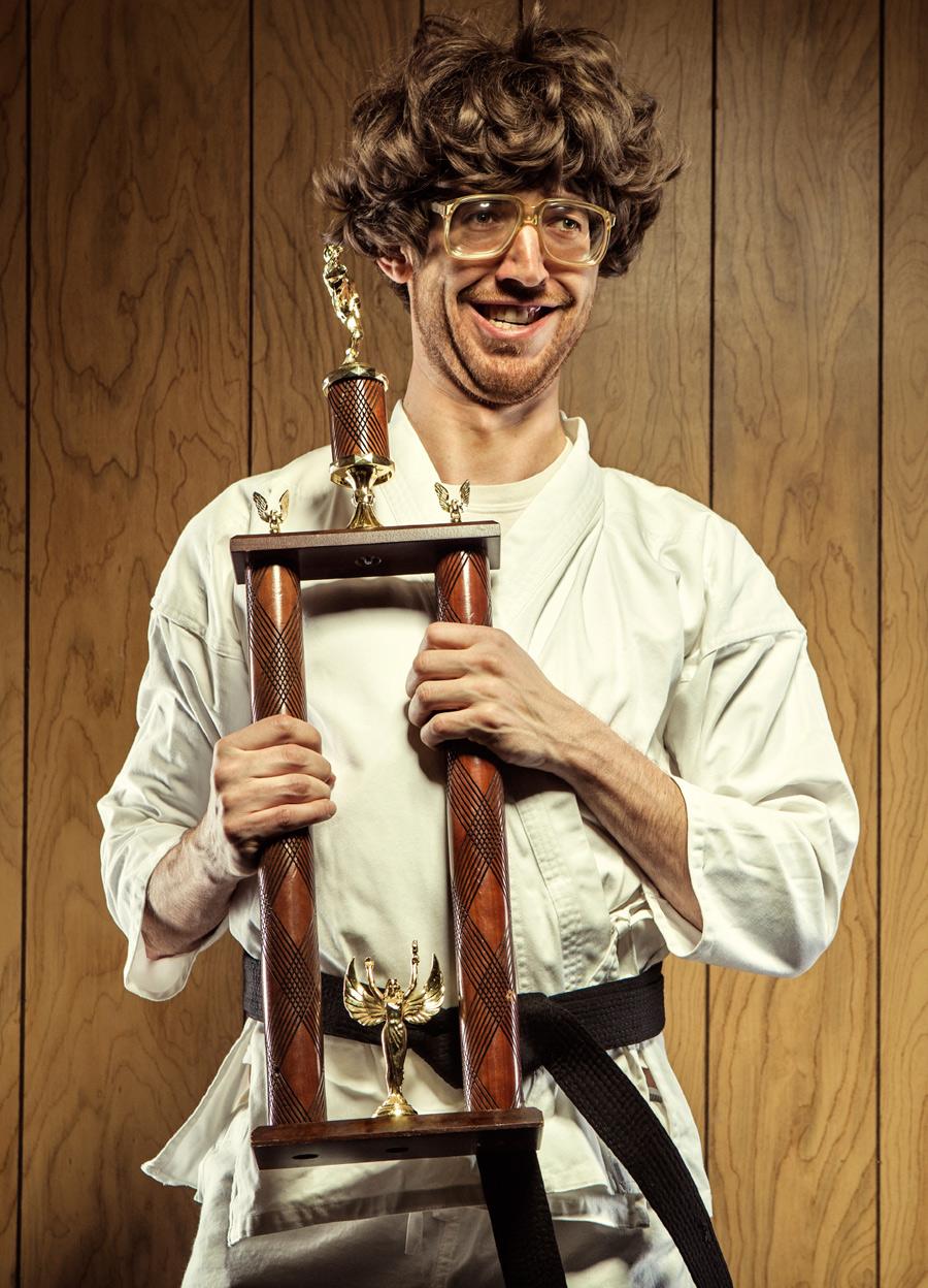 winning karate guy