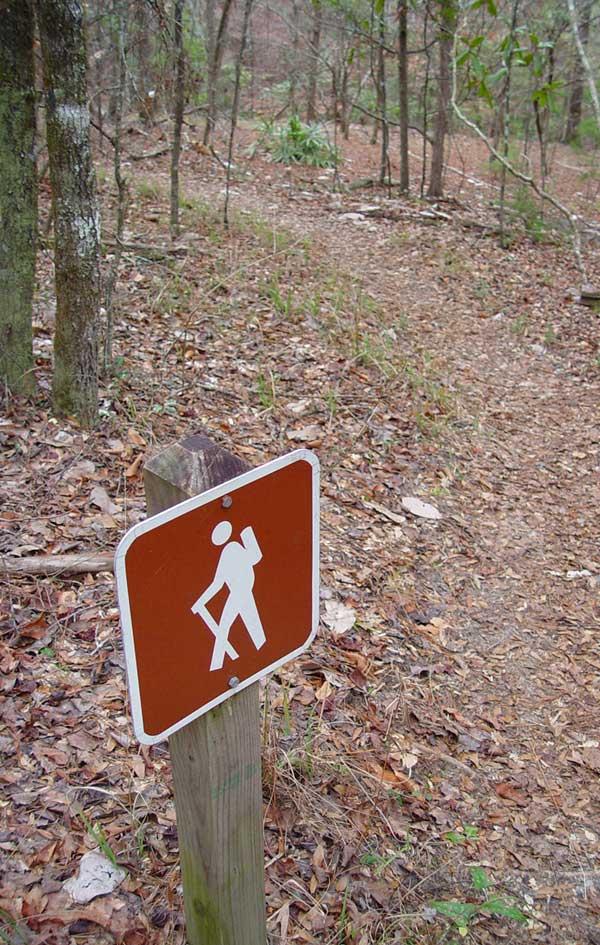 trail marker web
